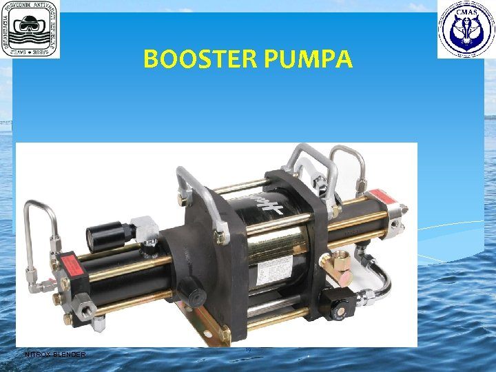 BOOSTER PUMPA NITROX BLENDER 19