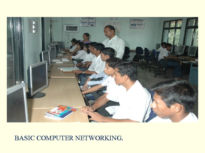 BASIC COMPUTER NETWORKING.