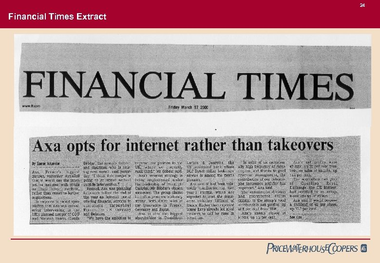 24 Financial Times Extract