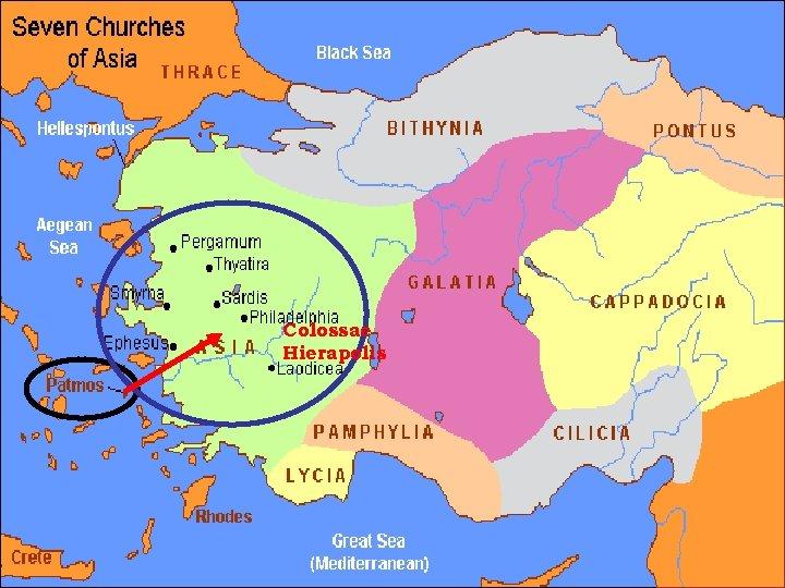 Colossae Hierapolis