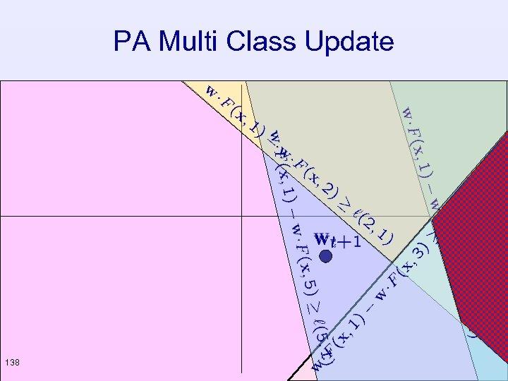 PA Multi Class Update 138
