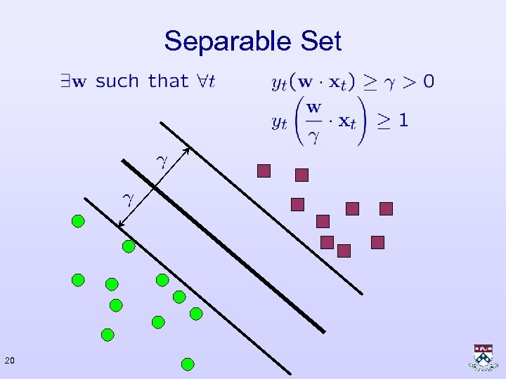 Separable Set 20