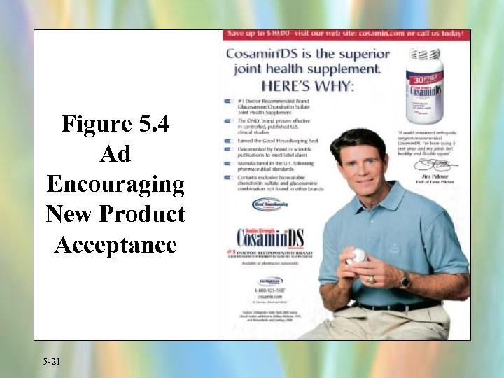 Figure 5. 4 Ad Encouraging New Product Acceptance 5 -21