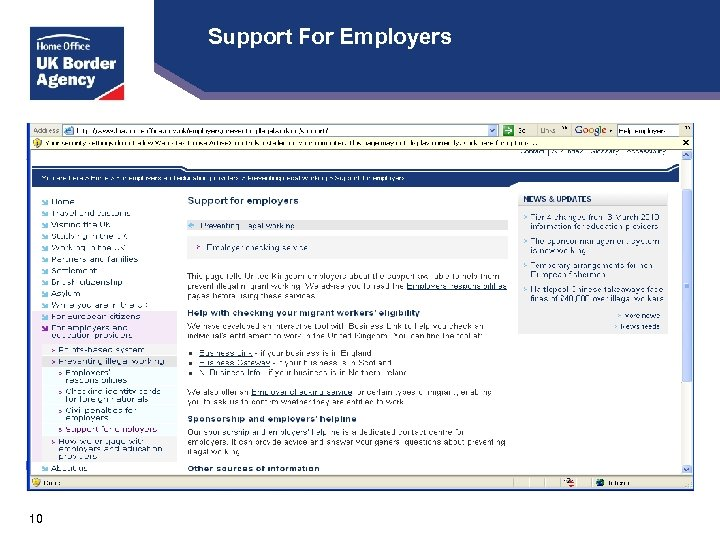 Support For Employers 10
