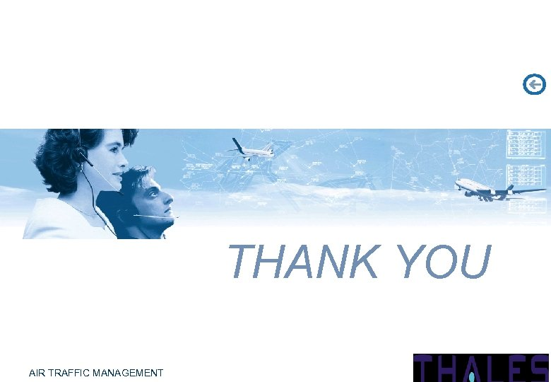 THANK YOU AIR TRAFFIC MANAGEMENT