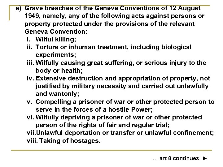 the killing of prisoners of war is against the geneva convention The geneva convention indicates that it's not permitted to photograph and embarrass or humiliate prisoners of war, rumsfeld said.