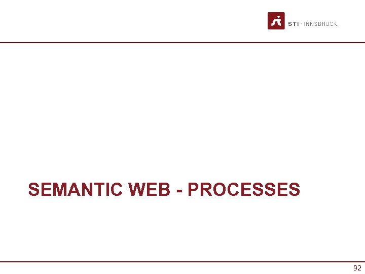SEMANTIC WEB - PROCESSES 92