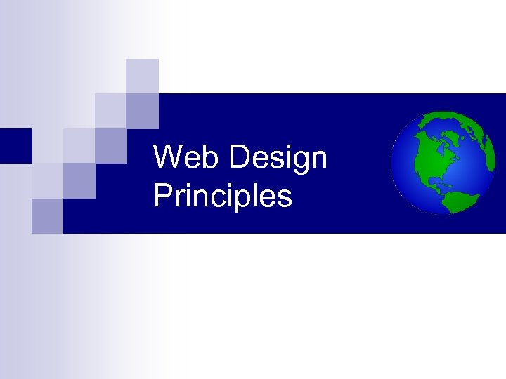 Web Design Principles