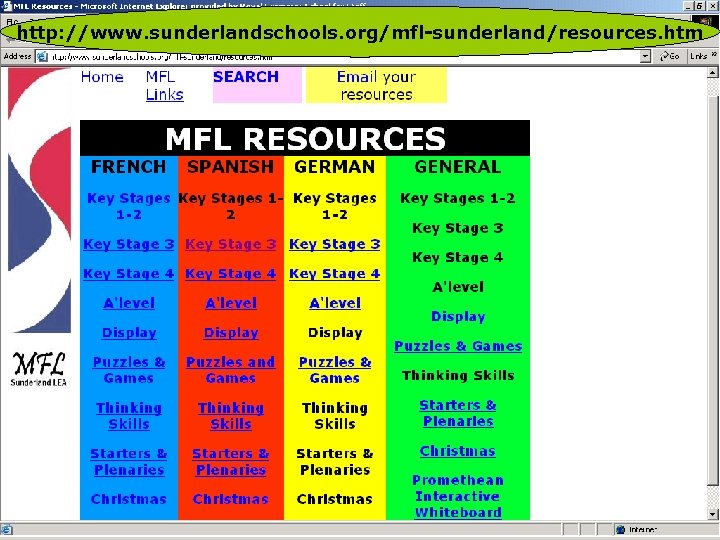 http: //www. sunderlandschools. org/mfl-sunderland/resources. htm