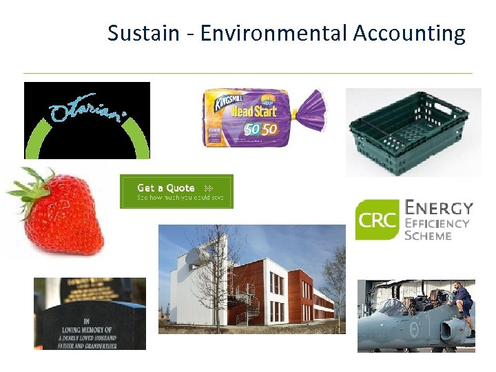 Sustain - Environmental Accounting