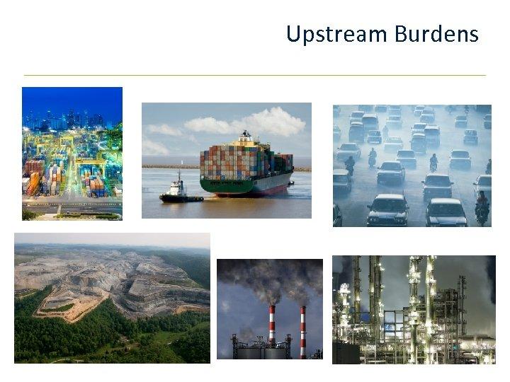 Upstream Burdens