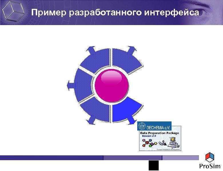 Пример разработанного интерфейса