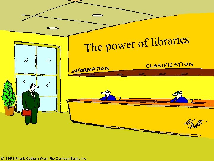 of libraries The power