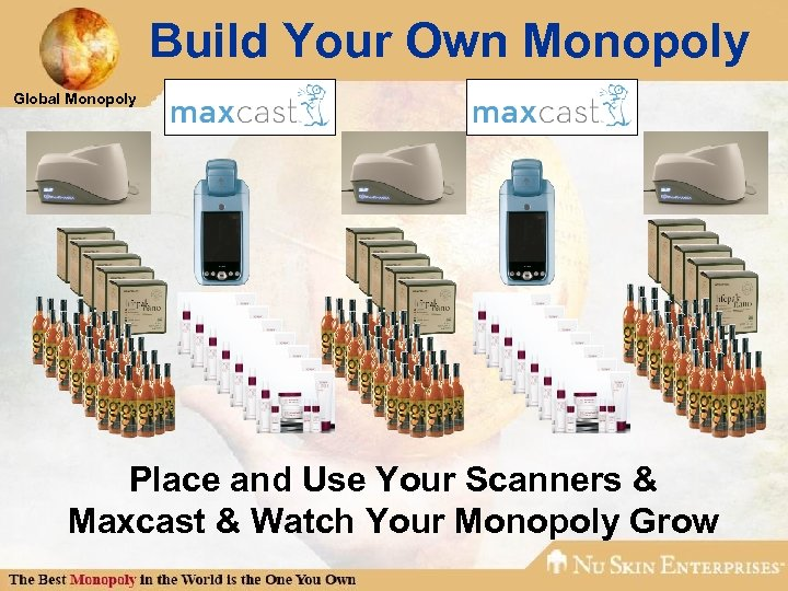Build Your Own Monopoly Global Monopoly Place and Use Your Scanners & Maxcast &