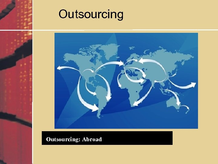Outsourcing: Abroad