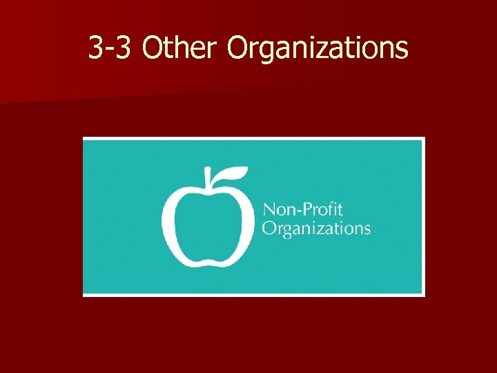 3 -3 Other Organizations