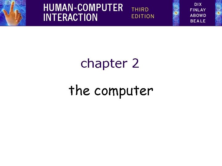 chapter 2 the computer