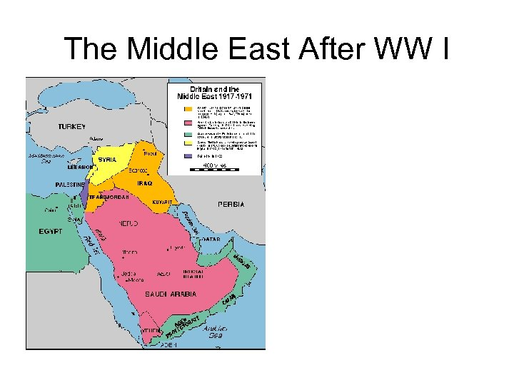 The Middle East After WW I