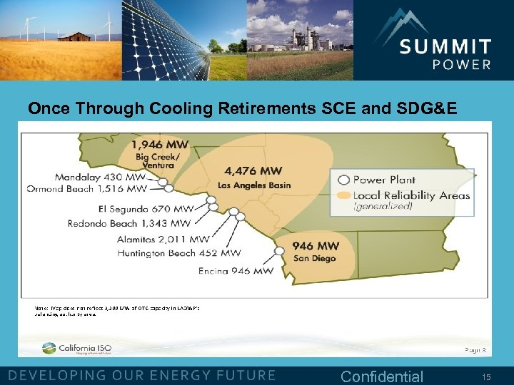 Once Through Cooling Retirements SCE and SDG&E Confidential 15