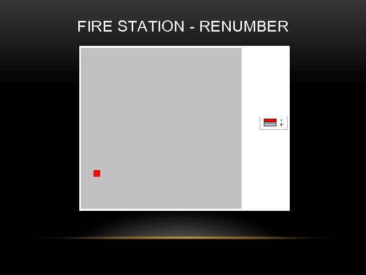 FIRE STATION - RENUMBER