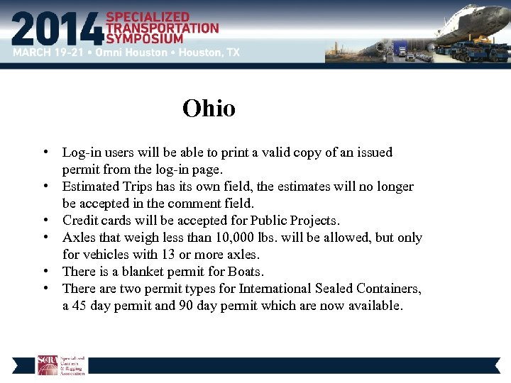 Ohio • Log-in users will be able to print a valid copy of an