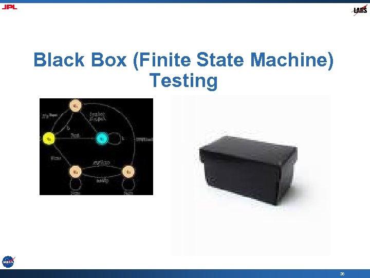 Black Box (Finite State Machine) Testing 36