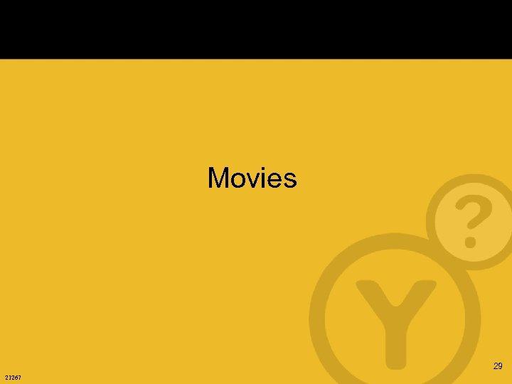 Movies 29 21267