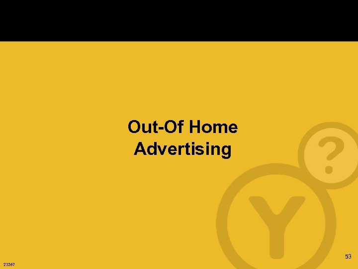 Out-Of Home Advertising 53 21267