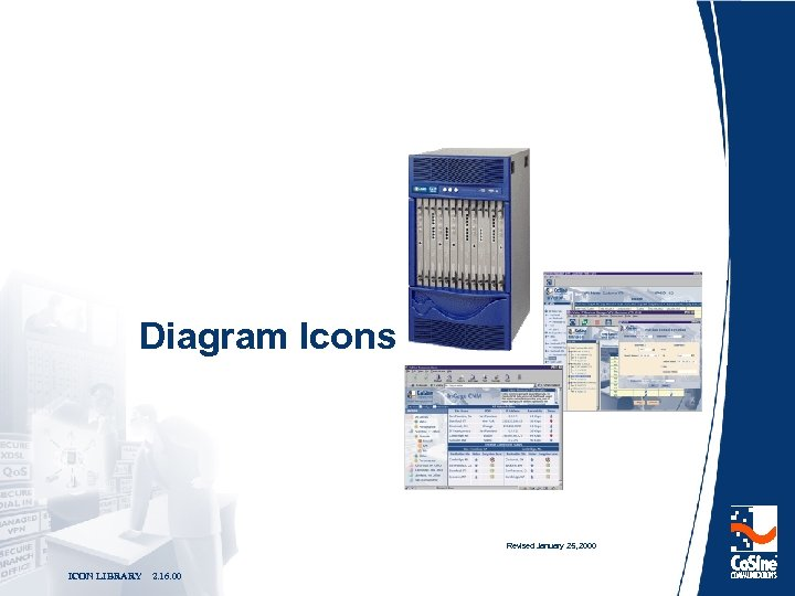 Diagram Icons Revised January 25, 2000 ICON LIBRARY 2. 16. 00