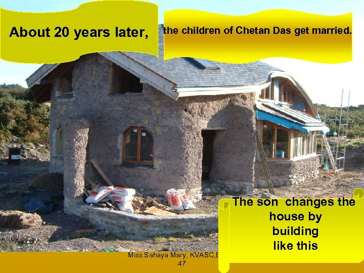 About 20 years later, the children of Chetan Das get married. The son changes