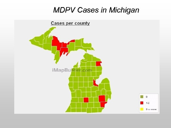 MDPV Cases in Michigan