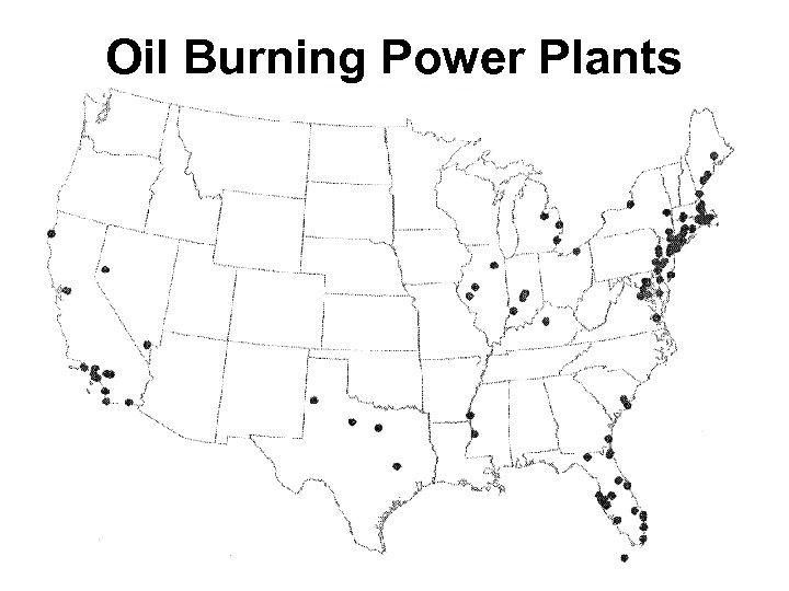 Oil Burning Power Plants