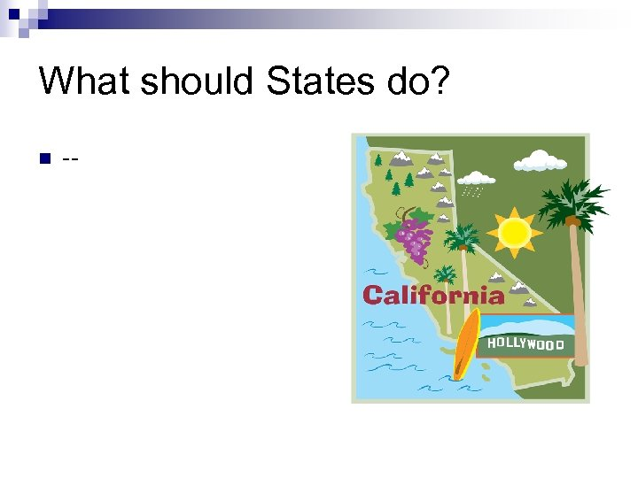 What should States do? n --