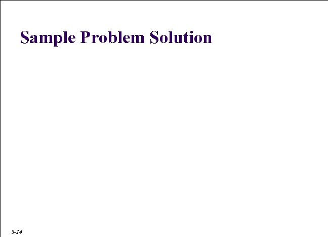 Sample Problem Solution When he sells € 250, 000 he will trade with a