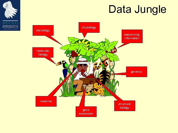 Data Jungle toxicology physiology sequencing information molecular biology genetics medicine gene expression structural biology
