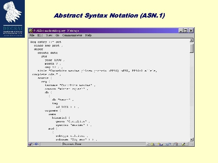 Abstract Syntax Notation (ASN. 1)
