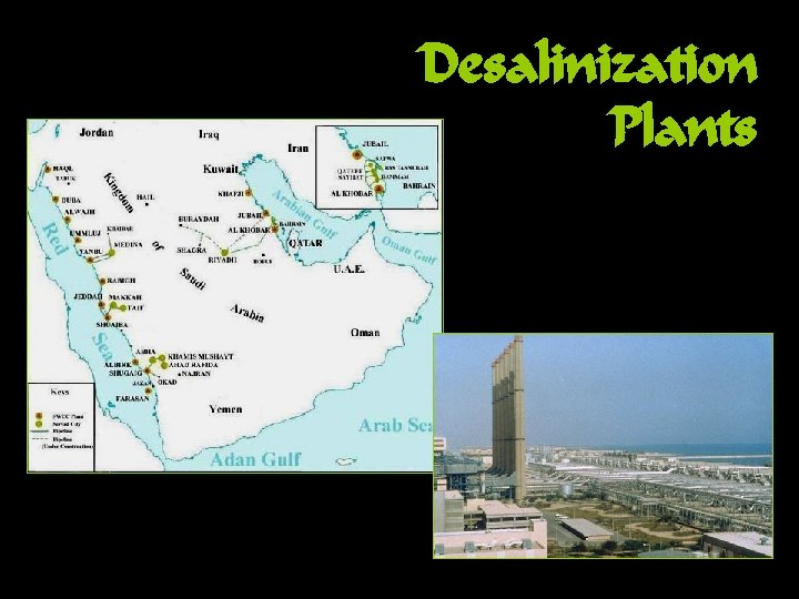 Desalinization Plants