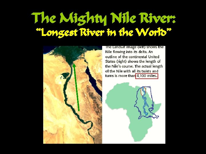 "The Mighty Nile River: ""Longest River in the World"""