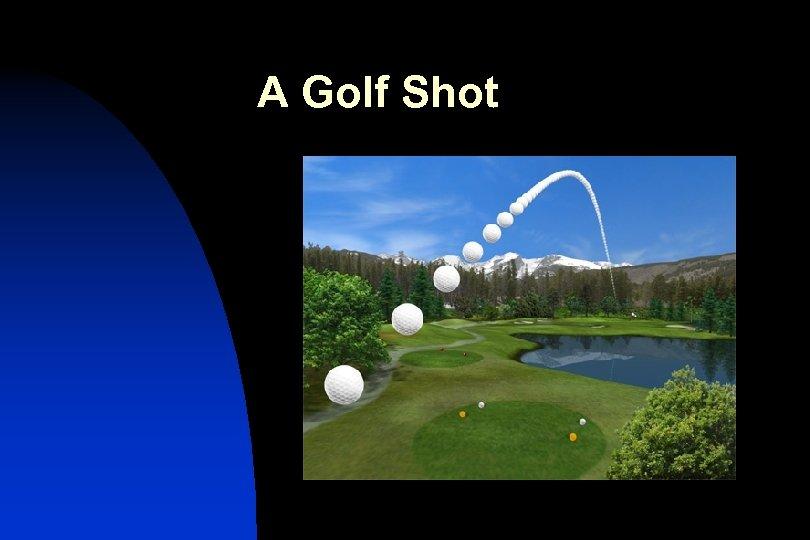 A Golf Shot