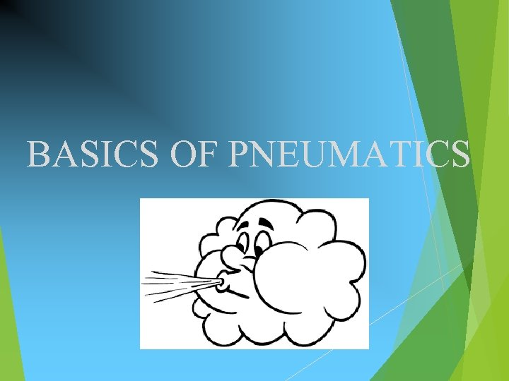 BASICS OF PNEUMATICS