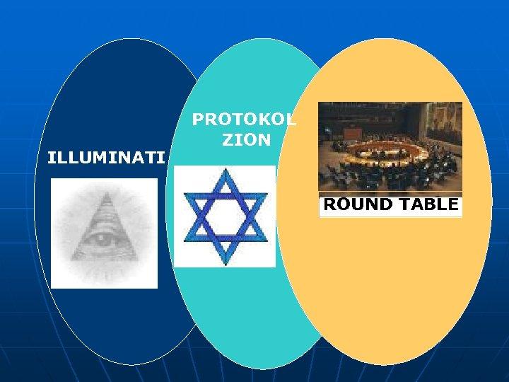 ILLUMINATI PROTOKOL ZION ROUND TABLE