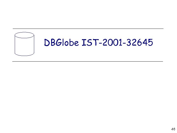 DBGlobe IST-2001 -32645 46