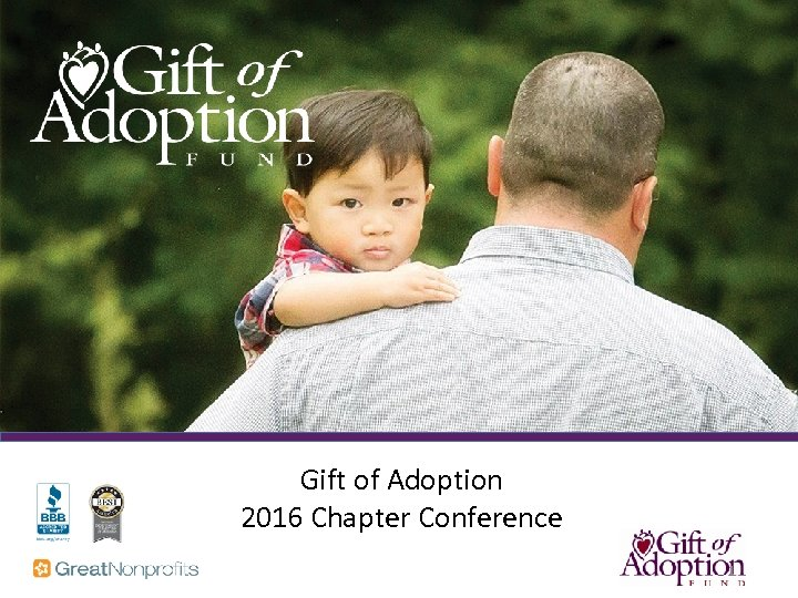 Gift of Adoption 2016 Chapter Conference 1