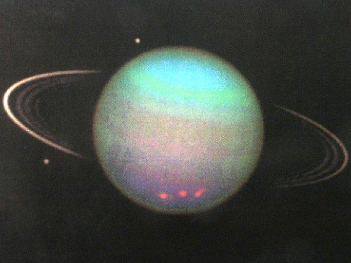 Uranus, rings. HST