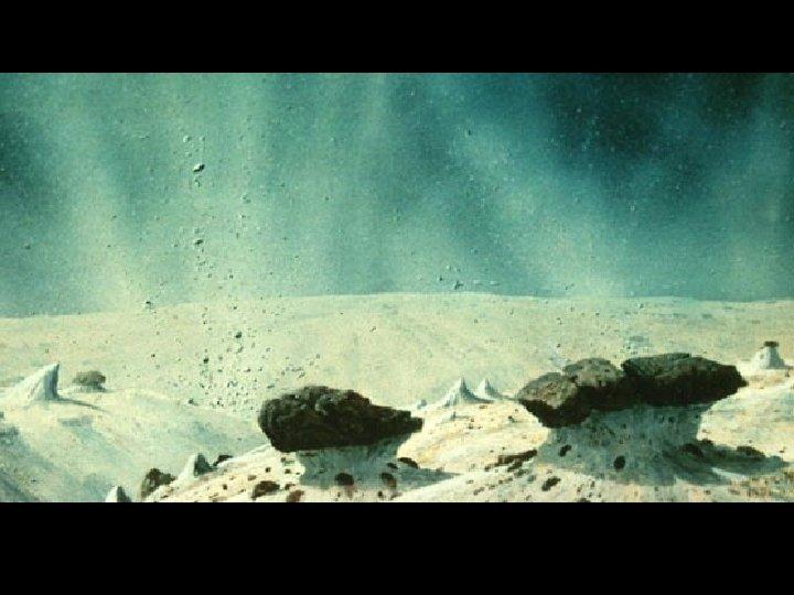 Comet surface - artist