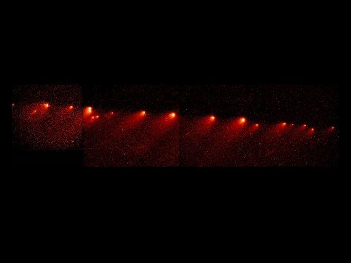 SL 9 string of comets