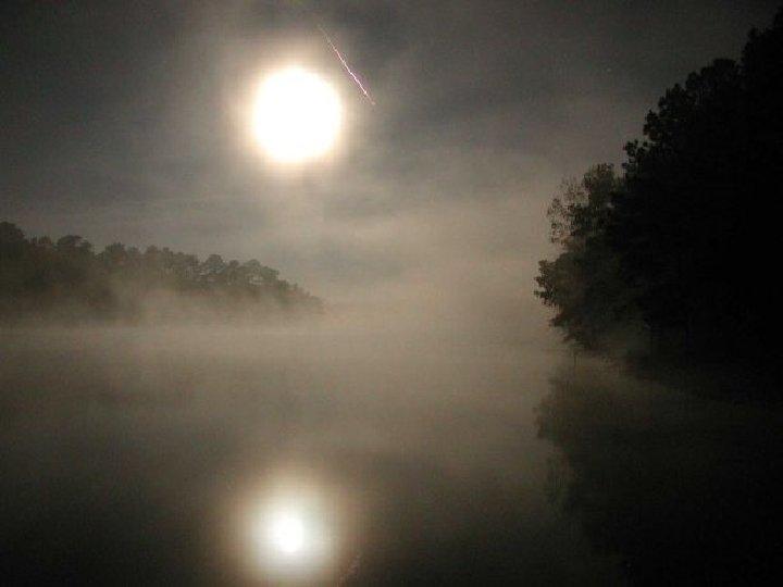 Leonids ' 02, lake moon
