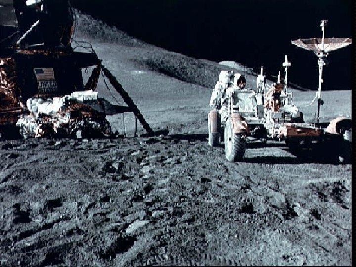 Apollo 15 on moon