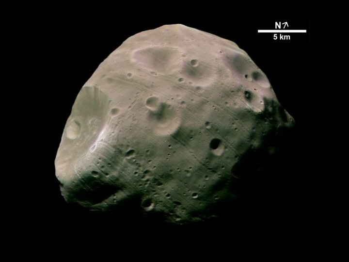 Phobos mars orbiter
