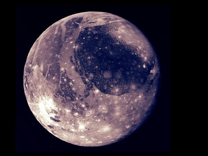 Ganymede globe gray